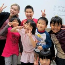 Teaching English at Clover English School