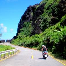 Driving around Green Island