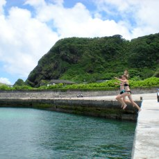 Swimming in Green Island