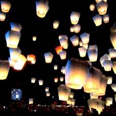 Pingxi Floating Lantern Festival
