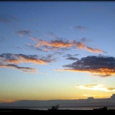 Sunrise over the Taiwanese East Coast