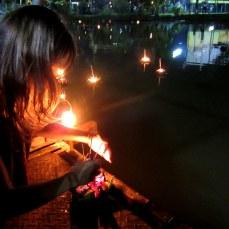 Prayer boats: Khon Kaen, Thailand